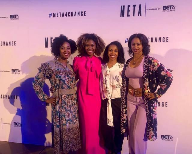 BETTIES AT BET META EVENT #meta4change